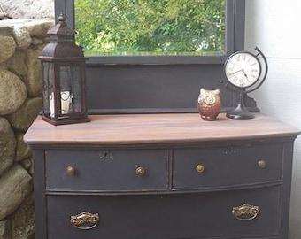 Rustic Distressed Dresser