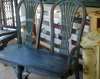 Stunning one of a kind custom made bench