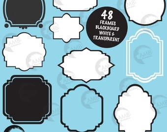 Frames and Tags Clipart, Fancy Frames cClipart, Label clipart, Clipart Frames, Clip Art Frames, Printable frames, AMB-306