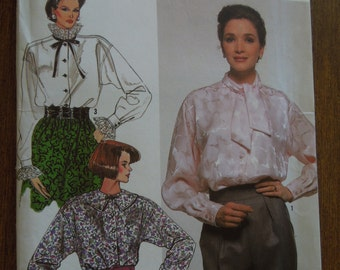 Simplicity 8805, size 10-16, misses, womens, blouses, UNCUT sewing pattern, craft supplies