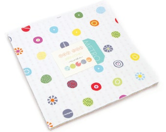 """Hey Dot Layer Cake by Zen Chic for Moda, 42 - 10"""" squares"""