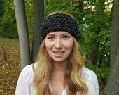 Knit Head Warmer - Moonstone
