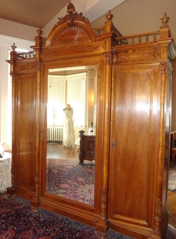 Antique Victorian 7 PIECE Bedroom Set Outstanding All