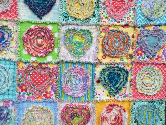 Rag Quilt Pattern Instant Download Pdf Pattern Tutorial