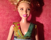 HautePoppet mini dress for curvy barbie size dolls