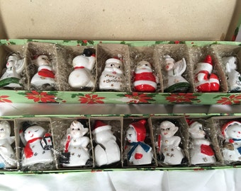 Vintage Christmas Placeholder Miniatures (2)
