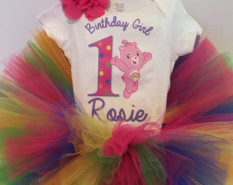 inspired Carebears Tutu Set