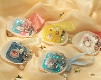 Molang Resin Keychains Serie 1