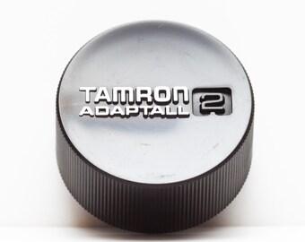 Original Tamron Adaptall 2 Rear Lens Cap / Fits M42 Mount Lenses / Japan