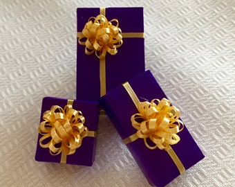 Purple n Gold One Inch Scale Gift Packages