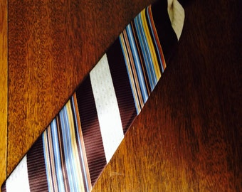 vintage clip-on tie from 70s , clipper