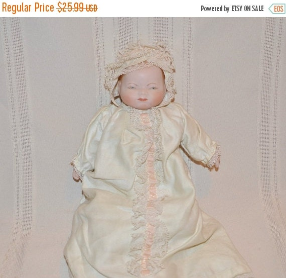 On Sale On Sale Vintage New Born Baby Doll 11 By