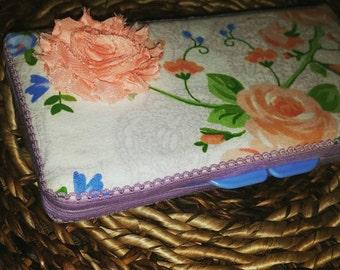 Little Floral Wipe Case