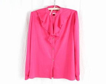 Hot pink shirt   Etsy