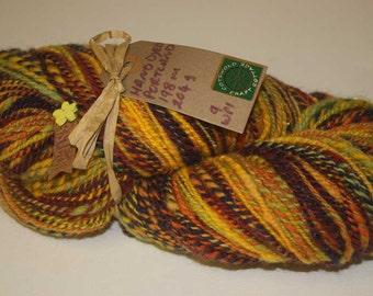 Hand Spun Hand Dyed 100% Portland Rare Breed Wool - Autumn Night