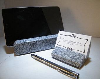 Desk Set/Tablet Holder/Business Card Holder/Office Desk Set/Employee Recognition /Office Recognition Gift