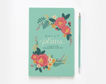 Floral Daily Plans - A Day Planner
