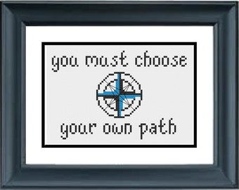 You Must Choose Your Own Path - Pocahontas - Disney - PDF Cross-Stitch Pattern