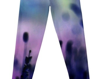 If I had a Purple Crayon Designer Leggings