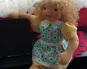 """Waldorf doll Iris 17"""" (43 cm)"""