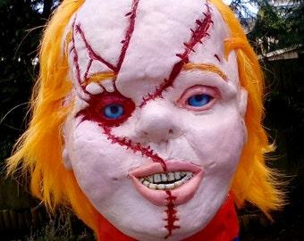 Chucky. Large handmade Bust