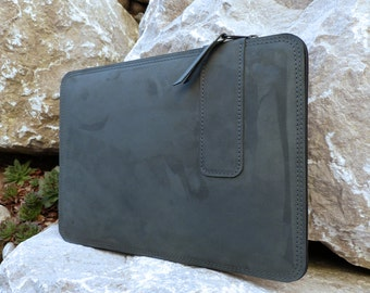 "MacBook 12"" Leathercase DARK NIGHT (Organic Leather)"