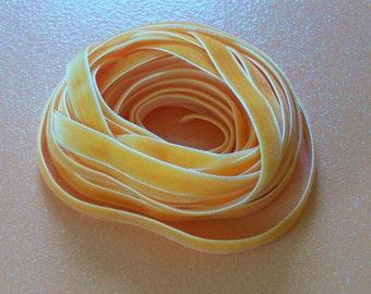 "Vintage Velvet Ribbon 3/8"" Orange"