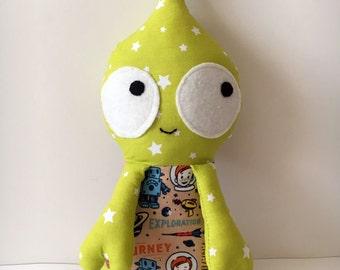 Stuffed alien