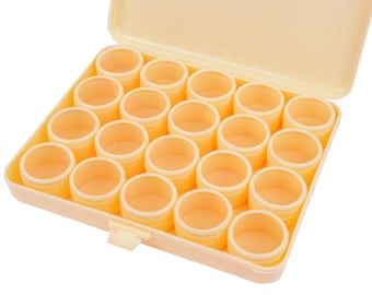 Proops 1 x 20 Clear Lid Compartment Storage Tray. (S7225) Free UK Postage