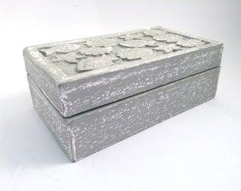 Seaside Jewelry Box - Antique White - Jewelry Box