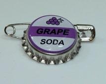 Disney UP GRAPE SODA bottle cap pin