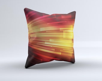 Neon orange pillow Etsy