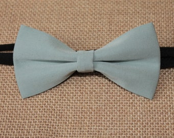 Light Mint Pre-Tied Bow Tie, Wedding Bow Tie, Bow Ties, Boys Bowties, Boys Bow Tie