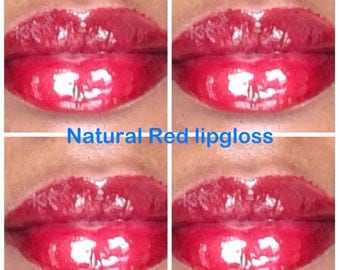 Natural Red lipgloss