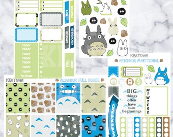 Neighbor Mini Weekly Planner Kit (4 sticker sheets)