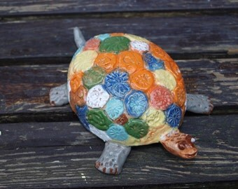 ceramik, animal, turtle, federal, handmade, decoration,
