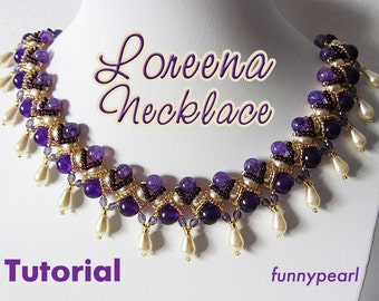 Necklace Loreena. Tutorial PDF