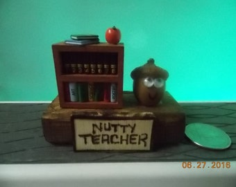 "Nutty Teacher - What are you ""Nuts"" about?"