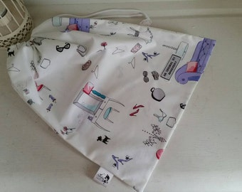 Lingerie Draw String Bag Perfect for Holidays