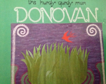 Donovan - The Hurdy Qurdy Man - vinyl record