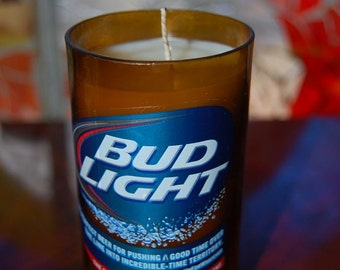 Bud Light Candle