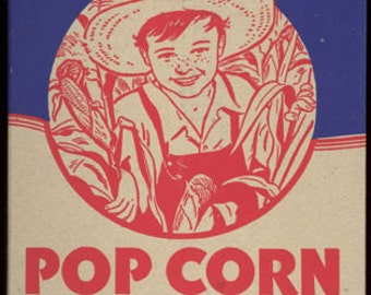 Farmer Boy Popcorn Box