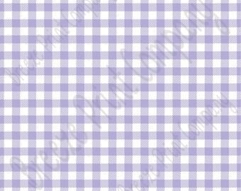 Lavender Gingham  craft  vinyl sheet - HTV or Adhesive Vinyl -  lavender pattern vinyl   HTV210