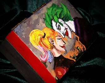 Joker inspired ring box