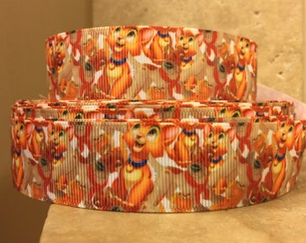 5 YDS Oliver and Company Cats Ribbon