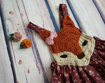 Crochet Fox Dress