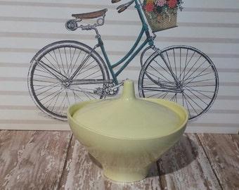 Vintage Boonton Melmac Melamine Sugar Bowl with Lid