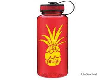 ChiO Chi Omega Pineapple Water Bottle
