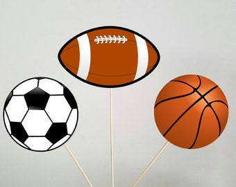 Sports Centerpieces, Sports Theme Centerpieces, Football Centerpieces, Soccer Centerpieces, Basketball Centerpieces