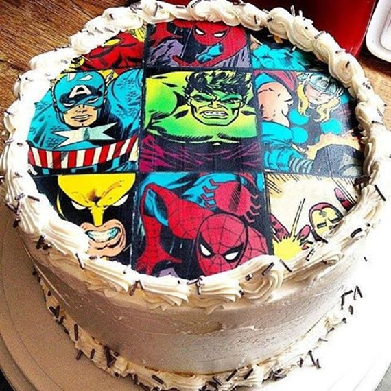 superhero cake toppers edible cake toppers edible cupcake 7842
